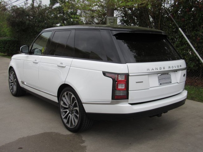 Used 2016 Land Rover Range Rover Autobiography SUV in Houston