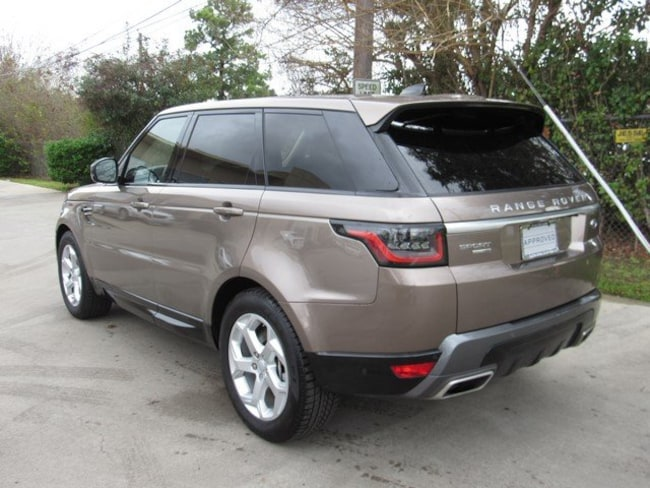 Used 2018 Land Rover Range Rover Sport HSE SUV in Houston