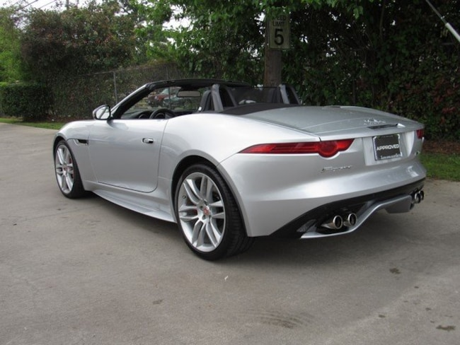Certified Used 2016 Jaguar F-TYPE R Convertible in Houston