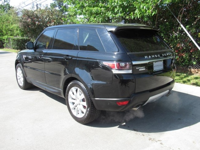 Certified Pre-Owned 2015 Land Rover Range Rover Sport Supercharged SUV for sale in Houston, TX