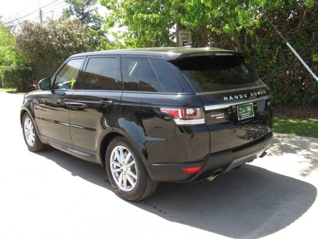 Used 2016 Land Rover Range Rover Sport V6 SE SUV in Houston