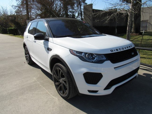 Certified Used 2018 Land Rover Discovery Sport HSE SUV in Houston