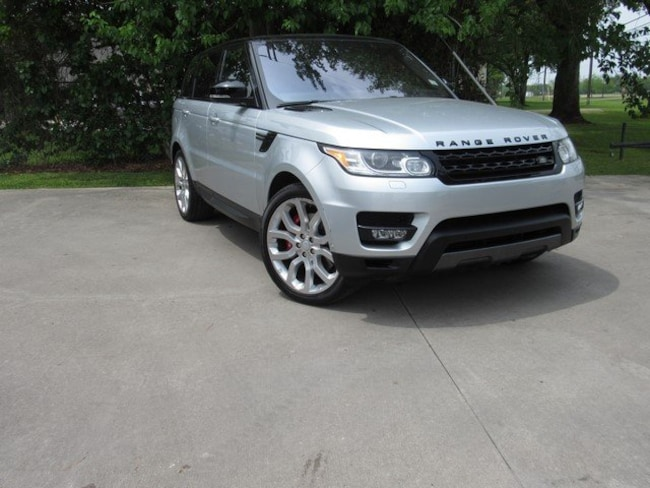 Used 2017 Land Rover Range Rover Sport Dynamic (V8 Supercharged Dynamic) SUV for sale in Houston, TX