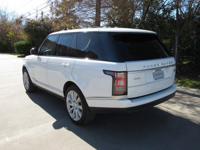 Used 2015 Land Rover Range Rover Supercharged SUV for sale in Houston, TX