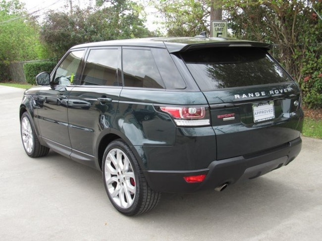 Certified Pre-Owned 2016 Land Rover Range Rover Sport V8 (4WD 4dr V8) SUV for sale in Houston, TX
