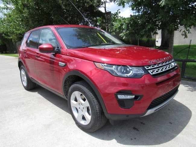 Certified Pre-Owned 2017 Land Rover Discovery Sport HSE SUV for sale in Houston, TX