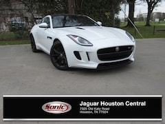 Used 2016 Jaguar F-TYPE S White Coupe for sale in Houston
