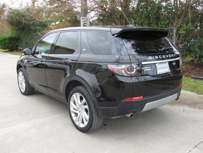 Used 2016 Land Rover Discovery Sport HSE LUX SUV in Houston