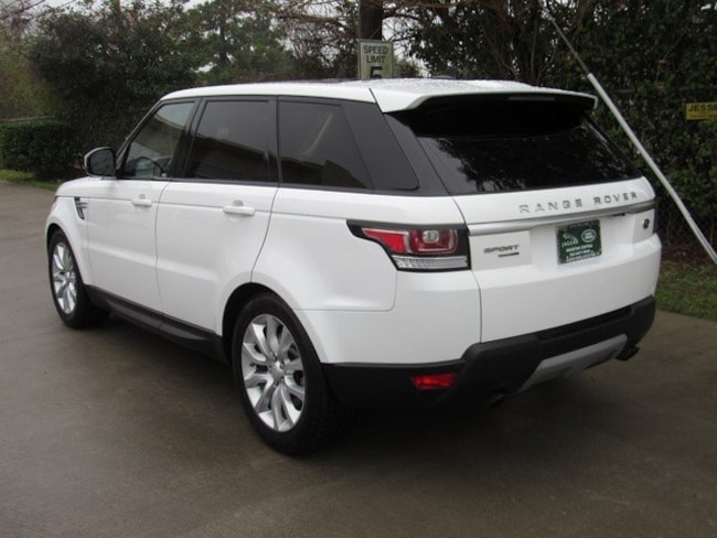 Used 2016 Land Rover Range Rover Sport V6 HSE SUV in Houston