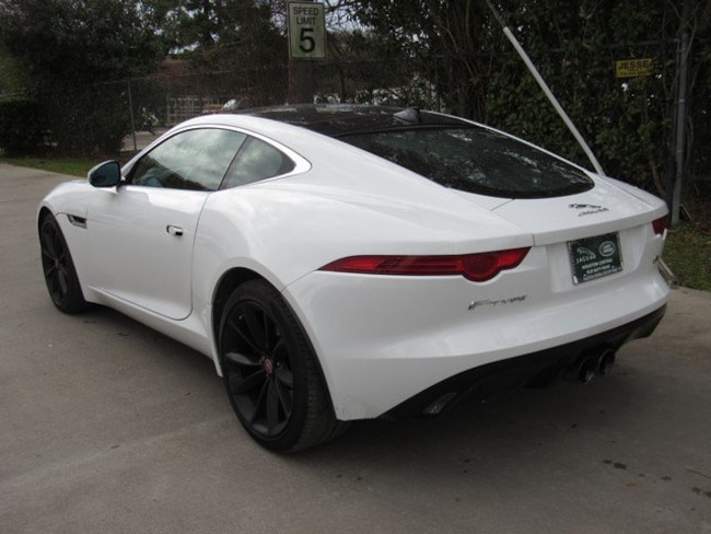 Used 2016 Jaguar F-TYPE S Coupe in Houston