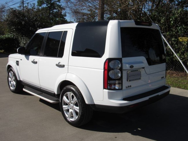 Certified Pre-Owned 2016 Land Rover LR4 HSE (4WD 4dr HSE *Ltd Avail*) SUV for sale in Houston, TX