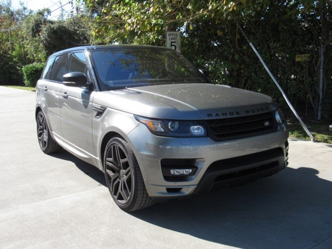 Certified Pre-Owned 2017 Land Rover Range Rover Sport 5.0L V8 Supercharged Autobiography SUV for sale in Houston, TX