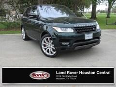 2016 Land Rover Range Rover Sport V8 (4WD 4dr V8) SUV