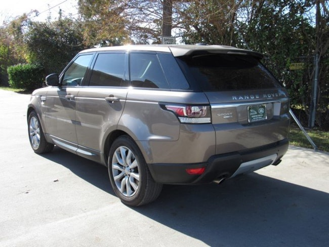 Used 2015 Land Rover Range Rover Sport HSE SUV for sale in Houston, TX