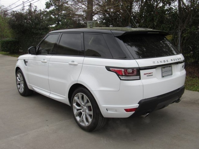 Certified Pre-Owned 2016 Land Rover Range Rover Sport Autobiography SUV for sale in Houston, TX