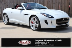 Used 2015 Jaguar F-TYPE V8 S White Convertible for sale in Houston