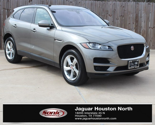 Certified Pre-Owned 2018 Jaguar F-PACE 25t Premium SUV in Houston