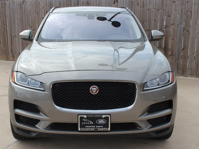 Certified Pre-Owned 2018 Jaguar F-PACE 25t Premium SUV for sale in North Houston, TX