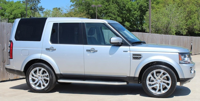 Certified Pre-Owned 2016 Land Rover LR4 SUV for sale in Houston, TX