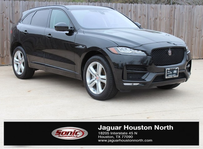 Certified Pre-Owned 2018 Jaguar F-PACE 20d R-Sport SUV in Houston