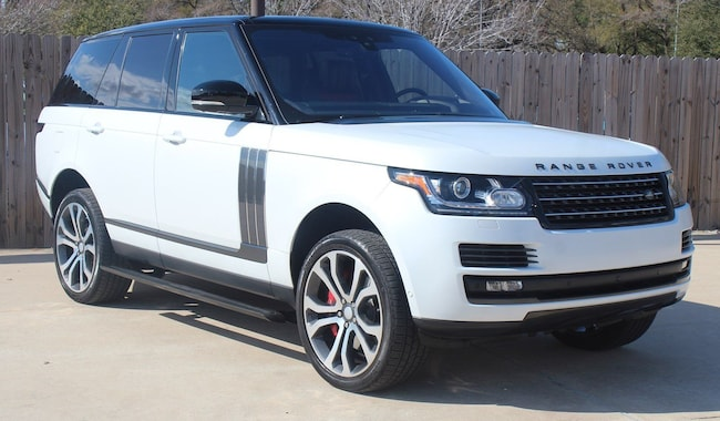 Certified Pre-Owned 2017 Land Rover Range Rover 5.0L V8 Supercharged SV Autobiography Dynamic SUV for sale in Houston, TX