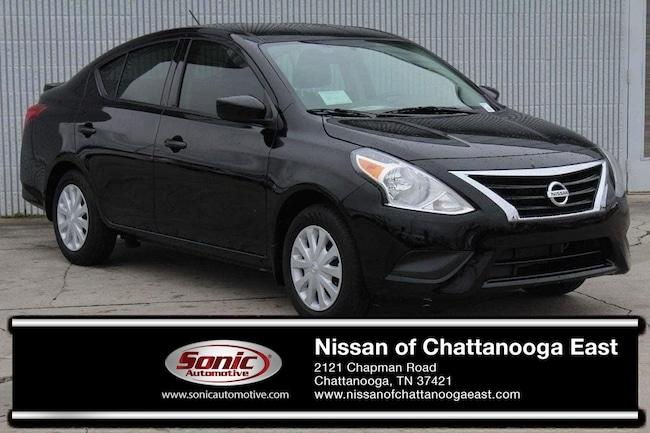 New 2019 Nissan Versa 1.6 S+ Sedan in Chattanooga
