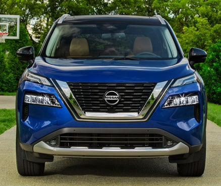 2021 Nissan Rogue Front End & Grille