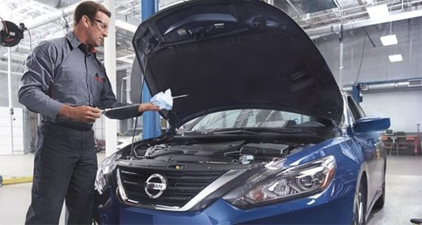 Nissan Oil Change Service