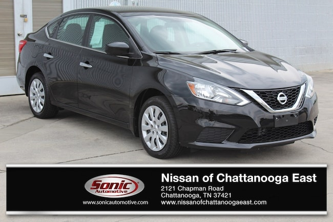 New 2017 Nissan Sentra SV Sedan in Chattanooga