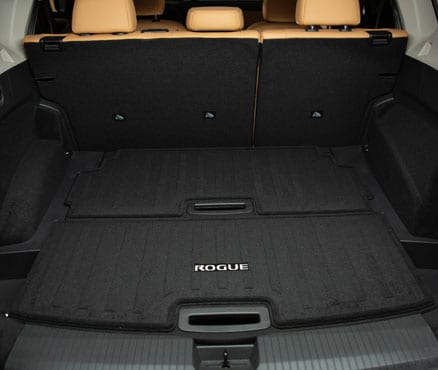 2021 Nissan Rogue Cargo Space