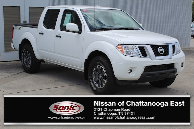 New 2018 Nissan Frontier PRO-4X Truck Crew Cab in Chattanooga