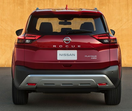 2021 Nissan Rogue Rear End & Tailgate