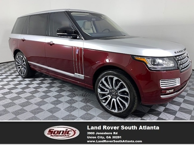 2016 Land Rover Range Rover 5.0L Supercharged SUV
