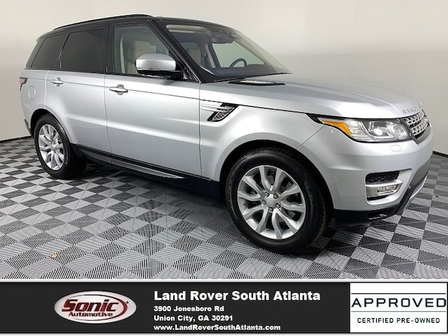 2017 Land Rover Range Rover Sport 3.0L Supercharged HSE SUV