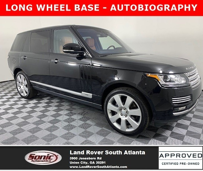 2017 Land Rover Range Rover 5.0L Supercharged Autobiography SUV
