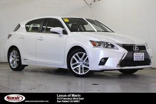 Used 2016 LEXUS CT 200h Hatchback for sale in Santa Monica