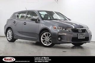 Used 2013 LEXUS CT 200h Premium Hatchback for sale in Santa Monica
