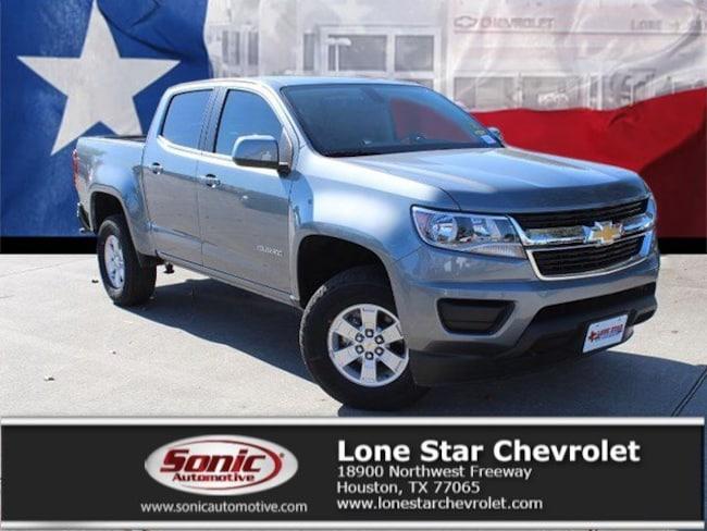 New 2019 Chevrolet Colorado WT Truck Crew Cab K1171719 in Houston