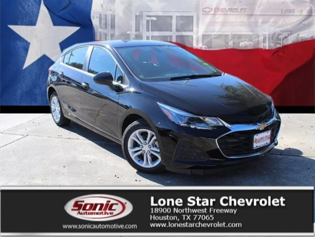 New 2019 Chevrolet Cruze LT Hatchback KS528102 in Houston