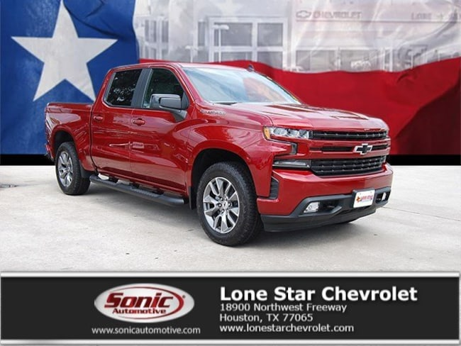 New 2019 Chevrolet Silverado 1500 RST Truck Crew Cab KZ113274 in Houston