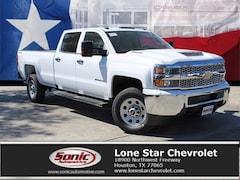 New 2019 Chevrolet Silverado 2500HD WT Truck Crew Cab KF229591 in Houston