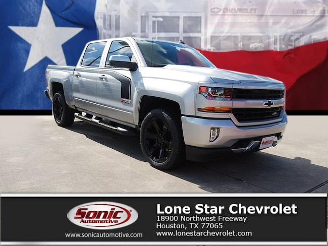 New 2018 Chevrolet Silverado 1500 LT Truck Crew Cab JG396064 in Houston
