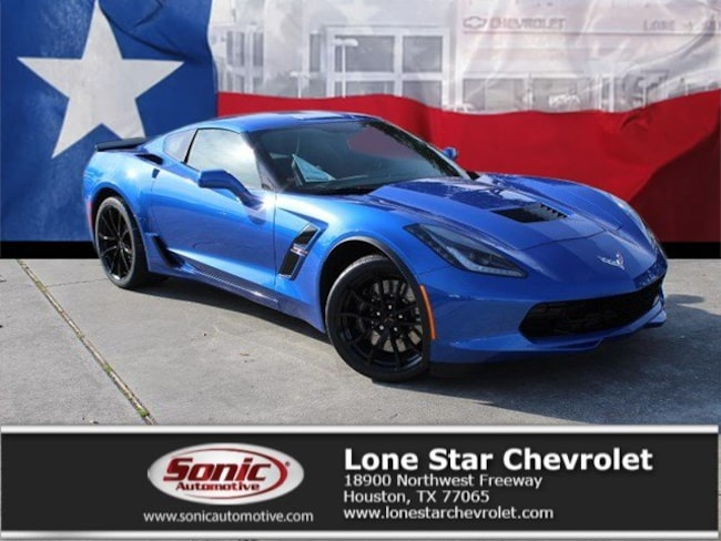 New 2019 Chevrolet Corvette Grand Sport Coupe K5114676 in Houston