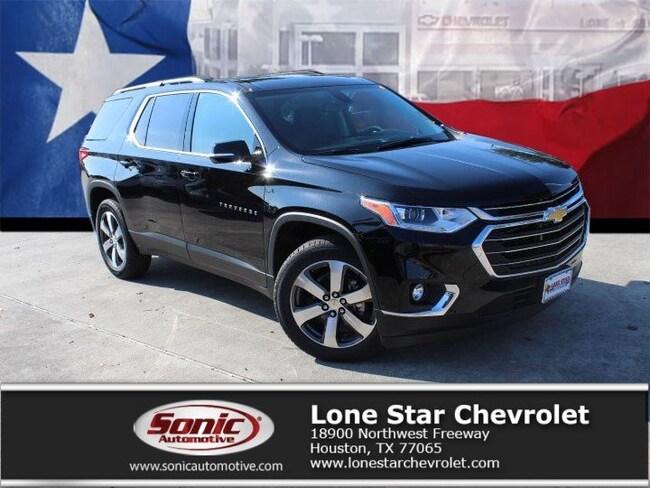 New 2019 Chevrolet Traverse LT Leather SUV KJ203500 in Houston