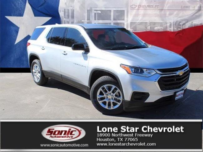 New 2019 Chevrolet Traverse LS w/1LS SUV KJ224485 in Houston