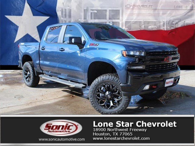 2019 Chevrolet Silverado 1500 LT Trail Boss (LIFTED) Truck Crew Cab KZ162291