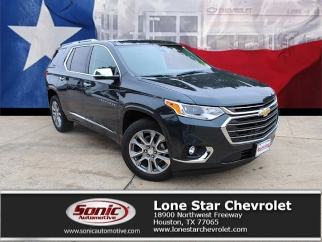 New 2019 Chevrolet Traverse Premier SUV KJ163639 in Houston