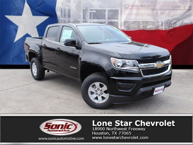 New 2019 Chevrolet Colorado WT Truck Crew Cab K1177508 in Houston