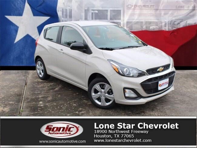 New 2019 Chevrolet Spark LS CVT Hatchback KC761841 in Houston