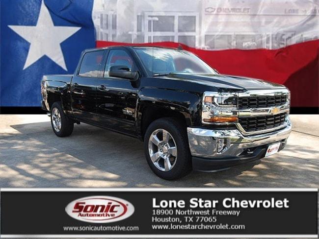 New 2018 Chevrolet Silverado 1500 LT w/1LT Truck Crew Cab JG525770 in Houston